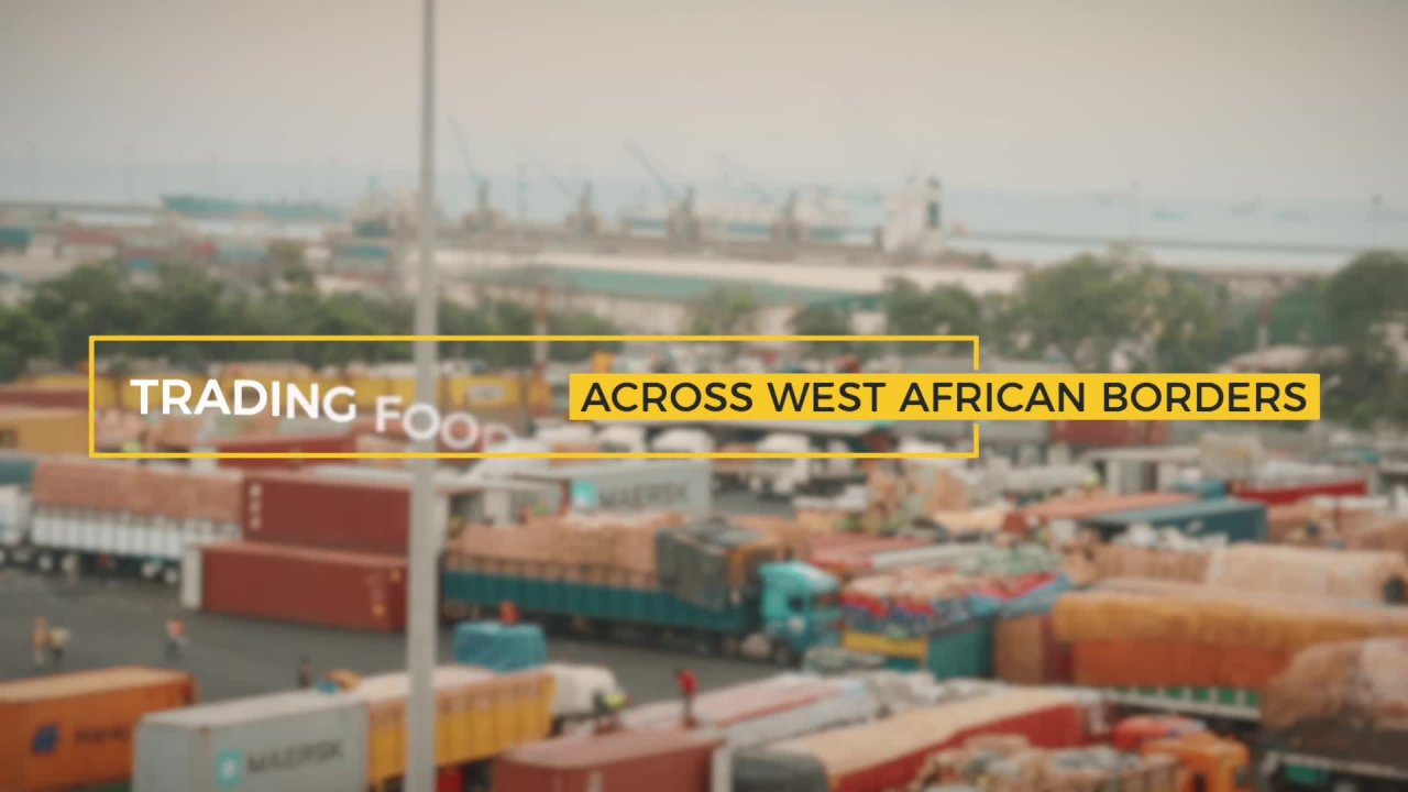 Trading Food across West African Borders (full version)