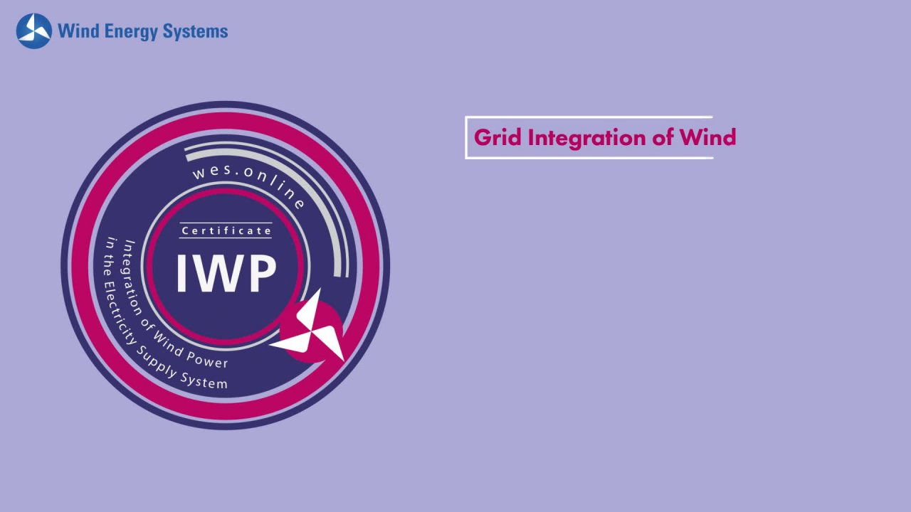Integration of Wind Power in the Electricity Supply System - Introducing our Certificates