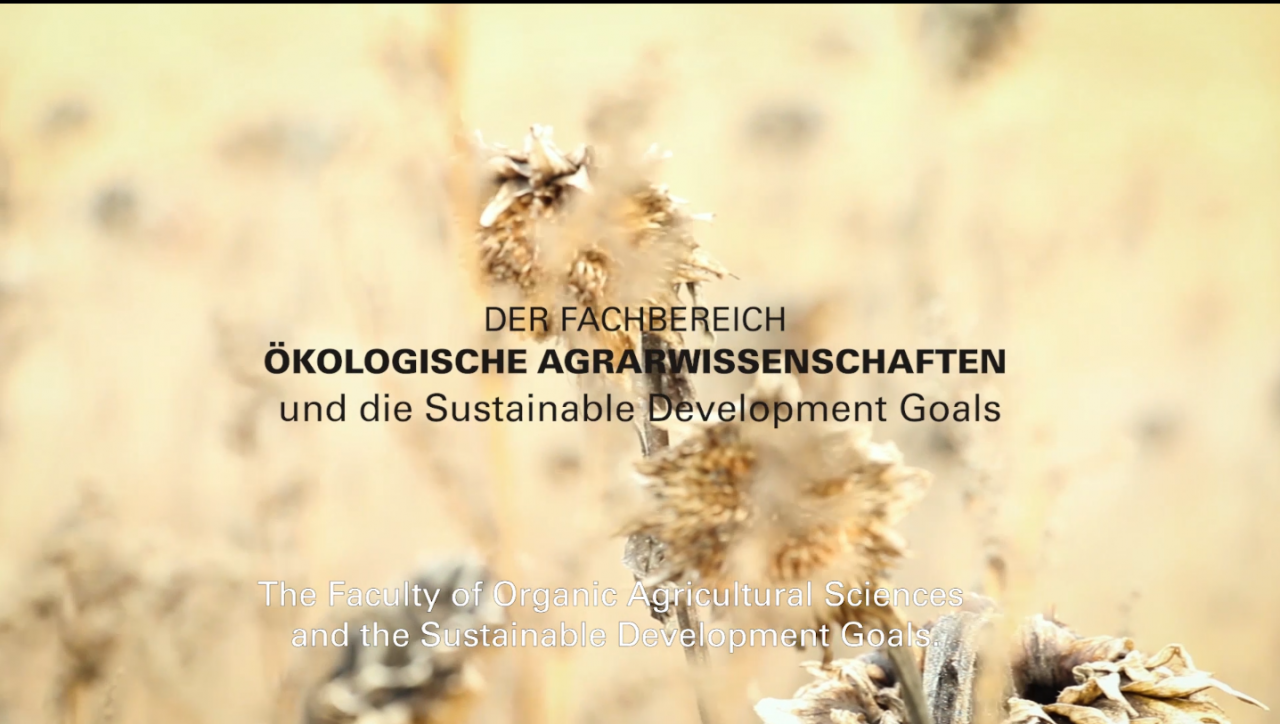 The Faculty of Organic Agricultural Sciences and the Sustainable Development Goals